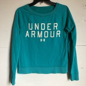 Under armour blue sweater size X-small